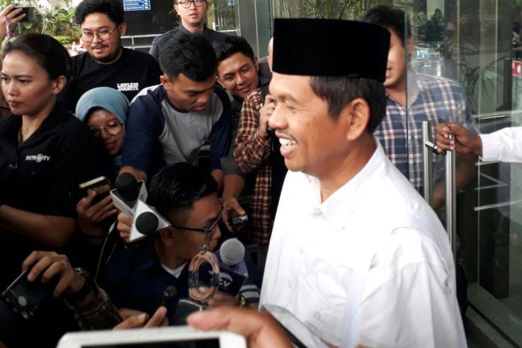 Bupati Purwakarta Dedi Mulyadi mengkonsultasikan kebijakan strategis di Purawakarta dengan Komisi Pemberantasan Korupsi (KPK), Selasa (7/11/2017).