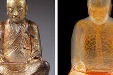 CT Scan Patung Buddha Berusia Ribuan Tahun Ungkap Keberadaan Mumi Biksu