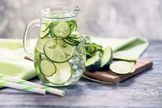 Resep Infused Water Timun untuk Turunkan Tekanan Darah Tinggi