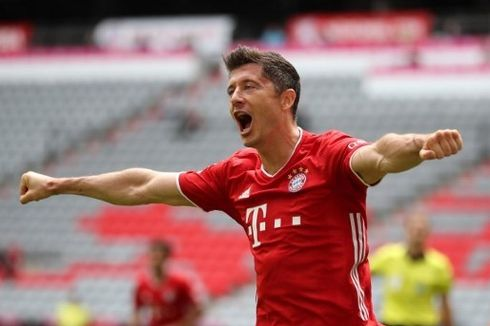 VIDEO - Assist Rabona Robert Lewandowski pada Laga Bayern Vs Schalke