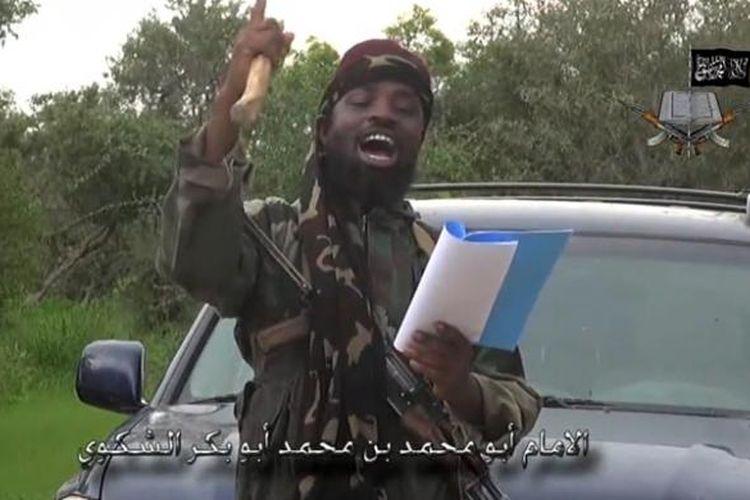 Pemimpin Boko Haram, Abubakar Shekau, memproklamasikan berdirinya Kekalifahan Islam dalam sebuah video terbarunya yang dikirimkan ke sejumlah media.
