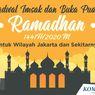 Jadwal Imsak dan Buka Puasa di Jakarta dan Sekitarnya Hari Ini, 15 Mei 2020