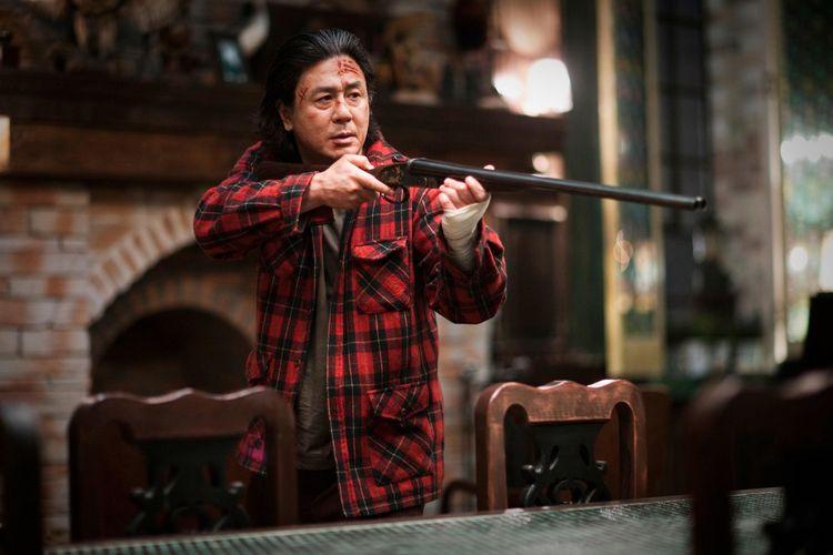 Choi Min Sik dalam film I Saw the Devil asal Korea Selatan.