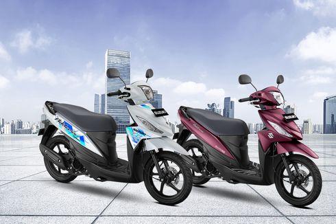 Suzuki Address FI Dapat Baju Baru di 2020, Semua Pakai Ban Tubeless
