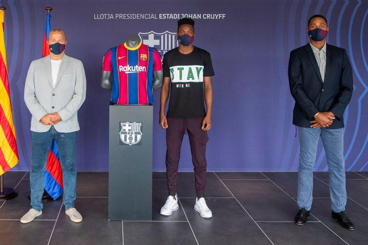 Pemain baru Barcelona B, Moussa Ndiaye