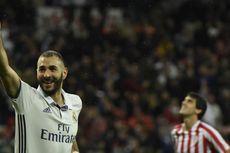 Terlibat dalam 4 Gol Madrid, Benzema Tuai Pujian