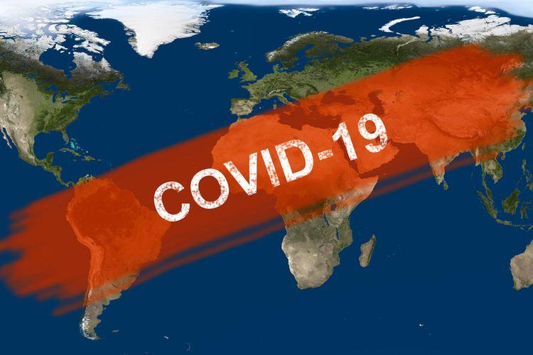 Ilustrasi pandemi Covid-19. Perbedaan endemi dan pandemi.