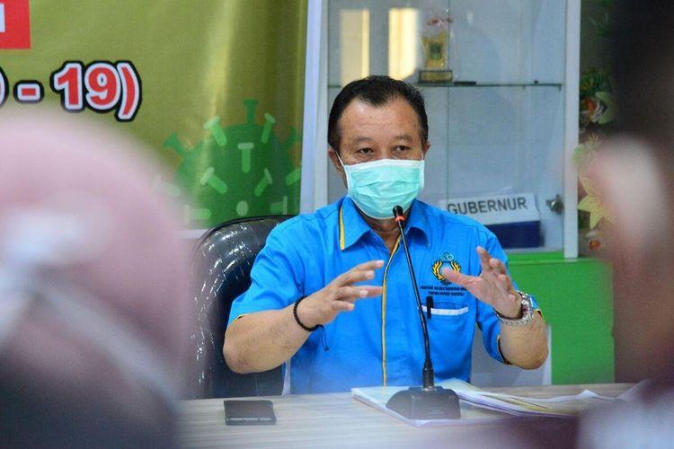 Triyanto Bialangi, juru bicara Gugus Tugas Percepatan Penanganan Covid-19 Prpovinsi Gorontalo