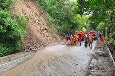 Sempat Tutup Total Akibat Longsor, Jalur Payung Kota Batu Dibuka Kembali