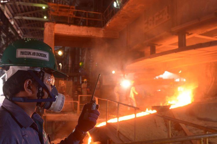 Pada semester kedua tahun 2019, PT Aneka Tambang Tbk (Antam) akan segera memulai periode produksi kedua dari Proyek Pembangunan Pabrik Feronikel Haltim (P3FH) dengan kapasitas produksi sebesar 13.500 nikel dalam feronikel (TNi).