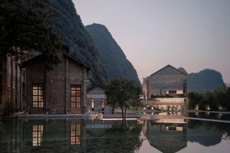 Hotel Alila Yangshuo yang dirancang Vector Architects.