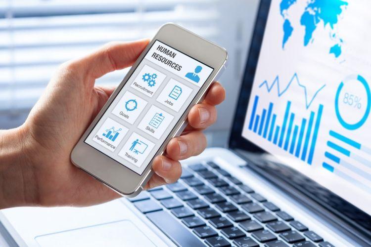 Ilustrasi aplikasi human resource management