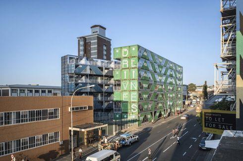 Menarik, Apartemen di Afrika Selatan Dibangun dari Kontainer
