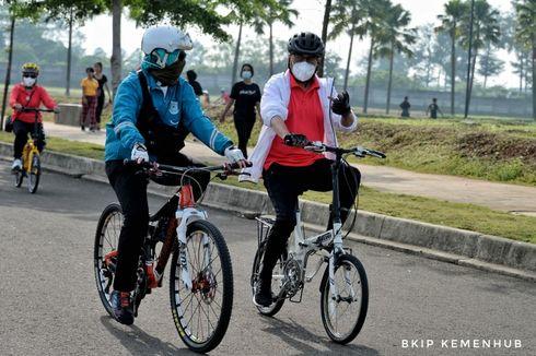 Menhub Ajak Masyarakat Patuhi Aturan Bersepeda