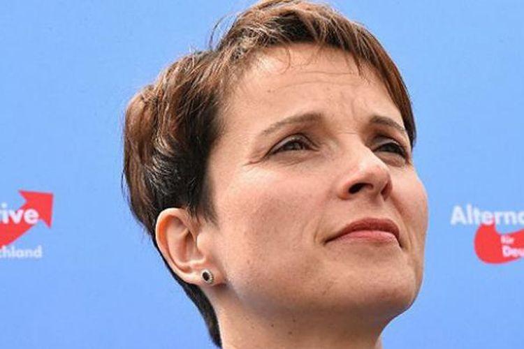 Frauke Petry, pemimpin partai Alternatif untuk Jerman (AfD)