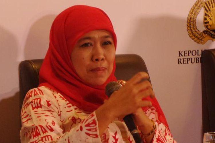 Menteri Sosial RI Khofifah Indar Parawansa