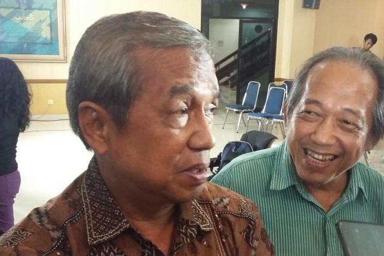 Mantan Wakil Ketua KPK, Busyro Muqoddas, di Kantor PP Muhamadiyah, Jakarta Pusat, Jumat (5/2/2016).