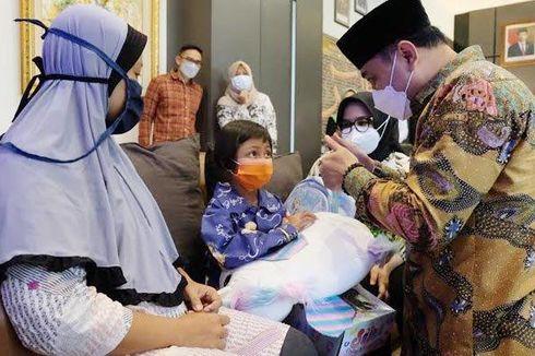 Hilang 5 Hari, Kedatangan Ara Bocah 7 Tahun Disambut Warga dan Wali Kota Surabaya