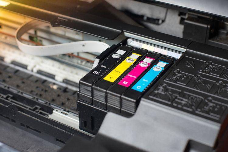 Ilustrasi printer