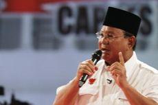 Kronologi Tabrakan Beruntun Mobil Rombongan Capres Prabowo