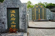 [BERITA FOTO] Bumi Tak Pilih Kasih di Kuburan China