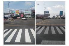 Garis Kotak Kuning di Tengah Jalan, Namanya Yellow Box Junction, Apa Fungsinya?