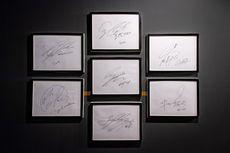 Tanda Tangan BTS Dipajang di Korean Cultural Center New York