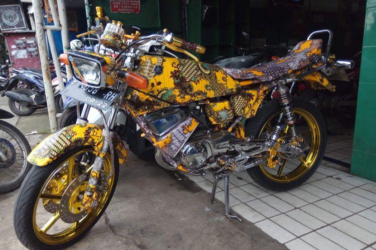 Yamaha RX King batik dijual Rp 22 Juta.