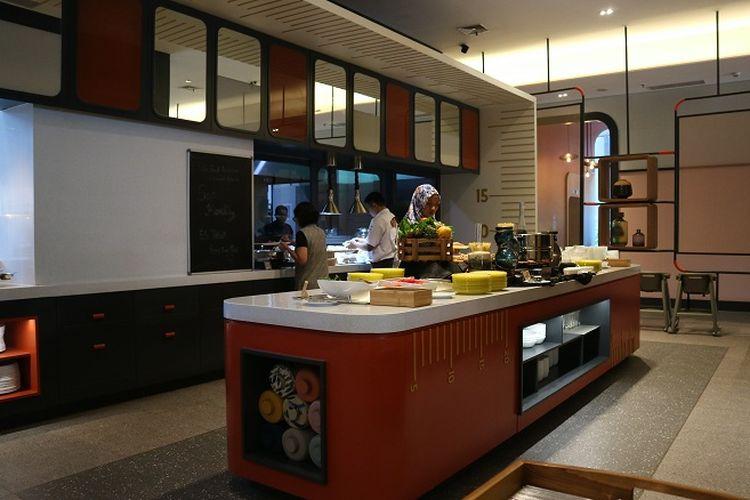 Area sTREATs restaurant yang kental dengan suasana Tanah Abang