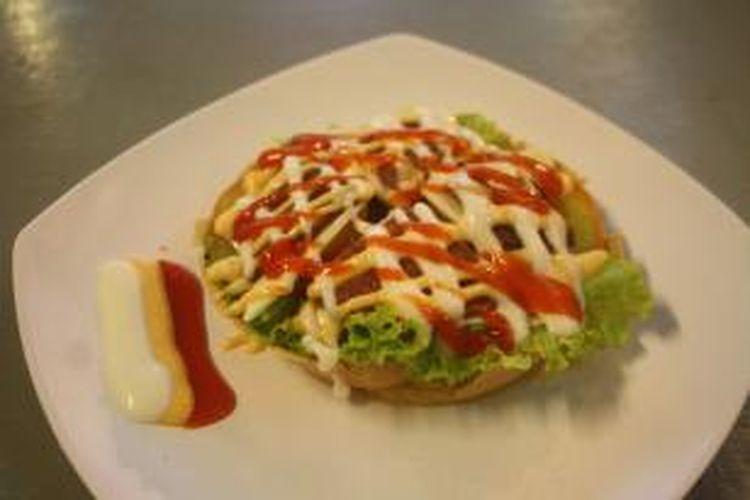 Martabak burger
