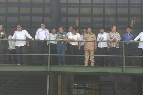 Kunjungi PT Pindad, Prabowo Mengaku Masih Belajar