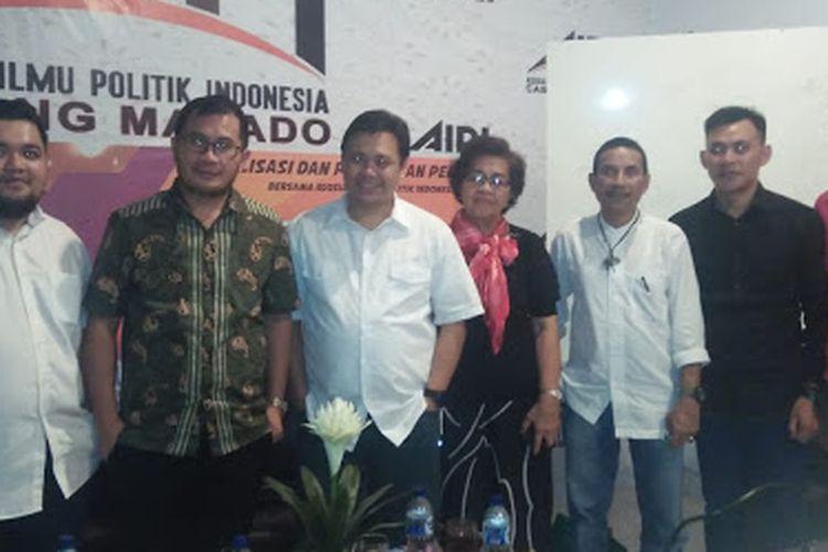 AIPI menggandeng KPU Provinsi Sulut untuk menggelar diskusi dalam rangka sosialisasi dan pendidikan pemilih bertema Pemilu 2019; Issue, Problem dan Kesiapan Penyelenggara Pemilu, Jumat (15/3/2019).