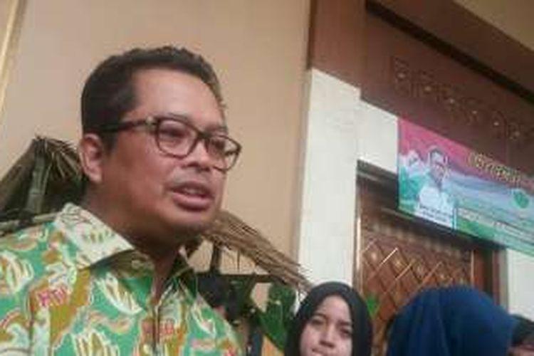 Ketua UmumHimpunan Kerukunan Tani Indonesia (HKTI)Mahyudin