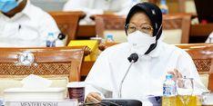 Anggaran Bansos 2022 Rp 74,08 Triliun, Risma: Bansos Tidak Dihentikan