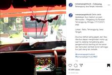 2 Bus Saling Balapan hingga Kecelakaan, Sopirnya Bodoh Permanen
