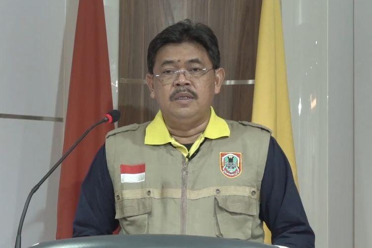 Juru Bicara Gugus Tugas Percepatan Penanganan Covid-19 Kalimantan Selatan, M Muslim.