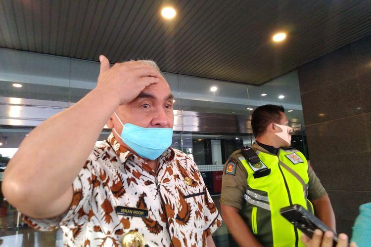 Gubernur Kalimantan Timur, Isran Noor saat ditemui Kompas.com di Kantor Gubernur Kaltim, Samarinda, Jumat (3/7/2020).