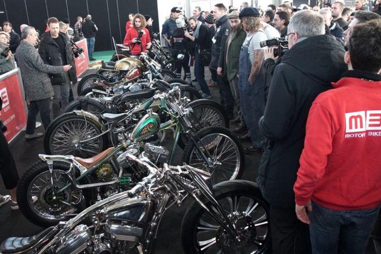 Empat motor kustom Suryanation Motorland siap tampil di Motor Bike Expo Verona.