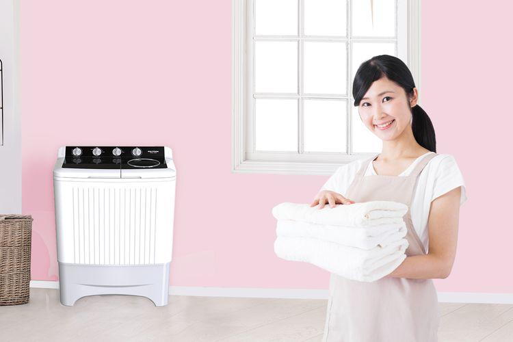 Ilustrasi mesin cuci