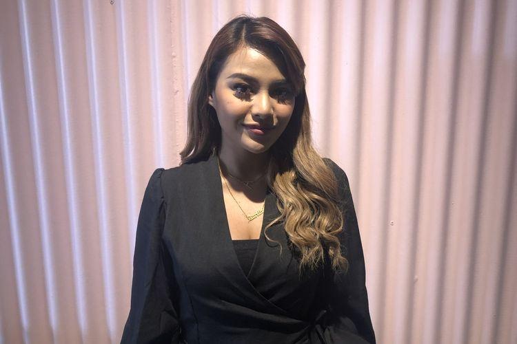Aurel Hermansyah saat dijumpai di kawasan Rawamangun, Jakarta Timur, Selasa (4/2/2020).