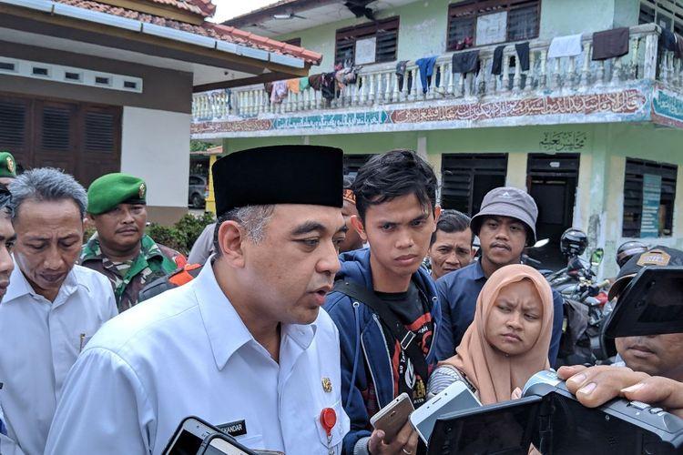 Bupati Kabupaten Tangerang Ahmed Zaki Iskandar saat ditemui di Teluknaga Kabupaten Tangerang, Rabu (15/1/2020)