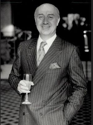 Paolo Gucci, cucu pendiri brand Gucci, yang sempat berseteru dan didepak dari bisnis keluarganya