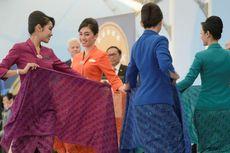 Apa Makna Empat Warna Seragam Pramugari Garuda Indonesia?