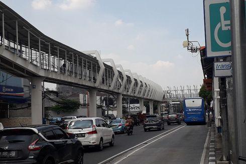 Pembangunan Skybridge LRT dan Transjakarta yang Instagramable Hampir Rampung