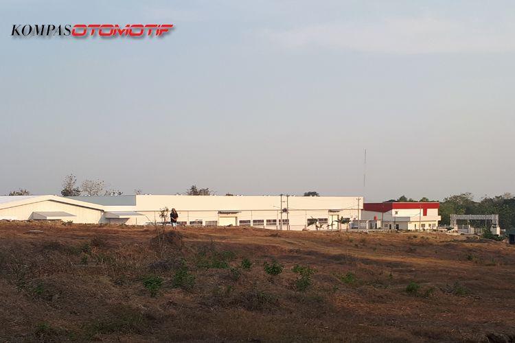 Blusukan ke Area Pabrik Esemka di Boyolali di Jawa tengah.