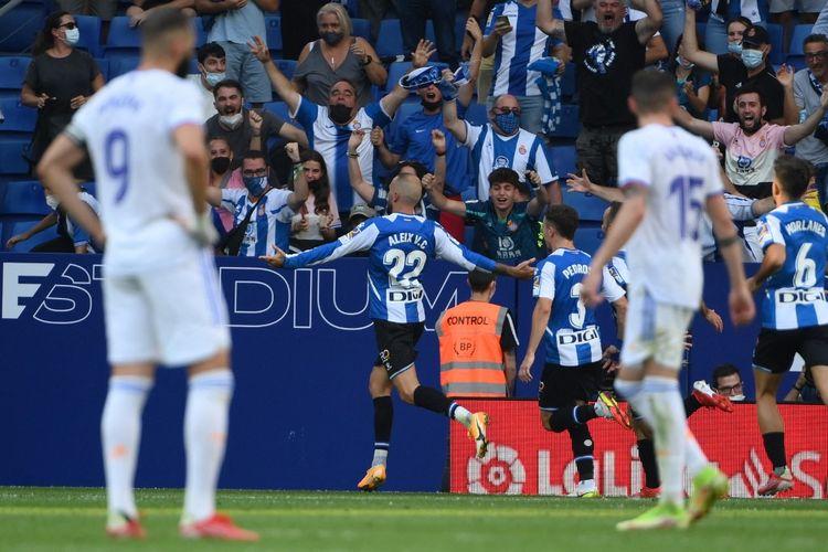Hasil Espanyol Vs Real Madrid: Gol Eks Barca Bikin Los Blancos Kalah 1-2  Halaman all - Kompas.com