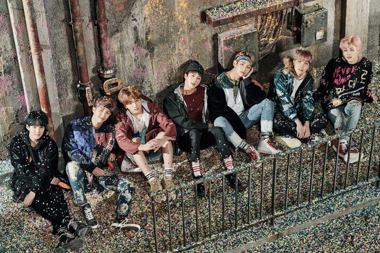 Boyband asal Korea Selatan, Bangtan Boys atau BTS.
