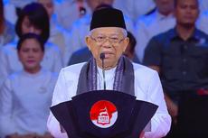 Tutup Muktamar V PKB, Ma'ruf Ucapkan Selamat dan Bangga pada Cak Imin