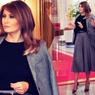 Pakai Blazer Oversized, Melania Trump Dikritik Warganet