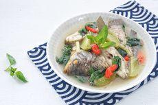 Resep Sop Ikan Kakap Tomat Pedas, Lauk Makan Malam Praktis